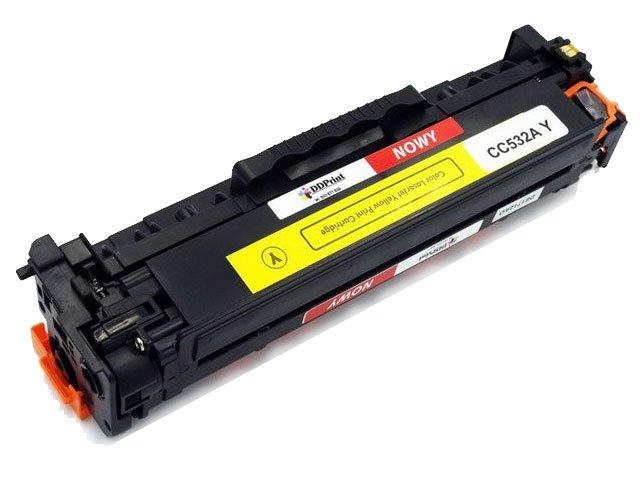 CC532A (304A) Toner Żółty do drukarek HP Color Laserjet CP2025 CM2320 / 2800str. Nowy zamiennik