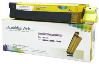 Toner do OKI C5650 C5750 / 43872305 / Yellow / 2000 stron / zamiennik