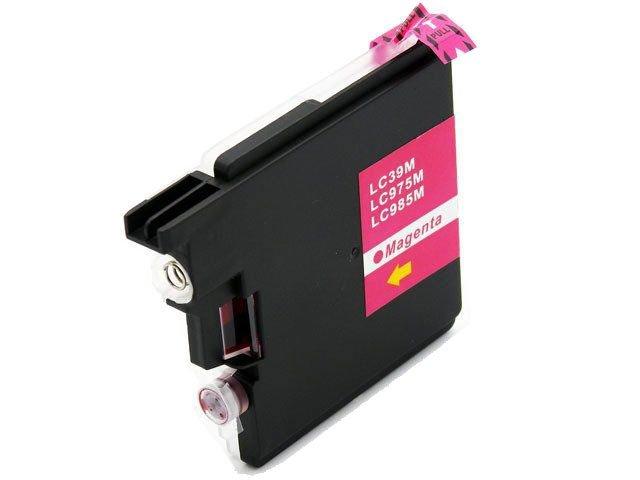 Tusz LC985 / LC-985 do drukarki Brother DCP-J125 / DCP-J315W - Magenta / Czerwony / 20ml