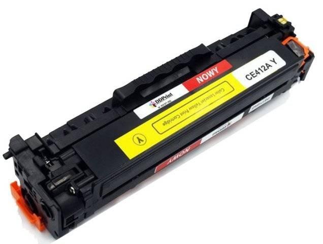 CE412A Yellow / Żółty toner do HP LaserJet M351 / M375 / M451 / M475 / 2600 stron Nowy Zamiennik